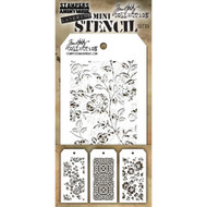 Tim Holtz Mini Layering Stencil - Set 25