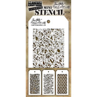 Tim Holtz Mini Layering Stencil - Set 24