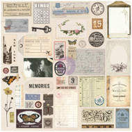 Prima Marketing - Traveler's Journal - Ephemera & Stickers Vintage