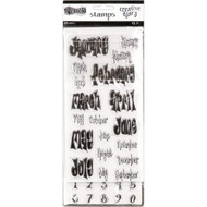 Dyan Reaveley's Dylusions Creative Dyary Stamp Set (DYE56713)