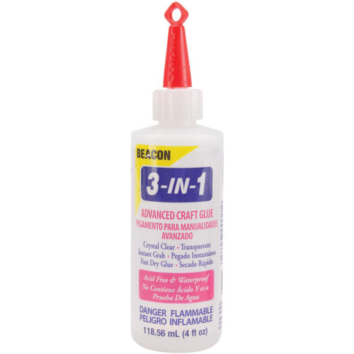 Beacon 3-In-1 Advanced Craft Glue - 4oz