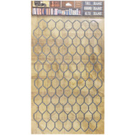 7 Gypsies Architextures Tall Base Adhesive Embellishments - Chicken Wire