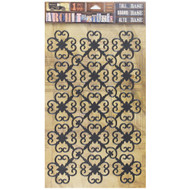 7 Gypsies Architextures Tall Base Adhesive Embellishments - Rosettes