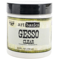 Prima Marketing Finnabair Art Basics - Gesso Clear 8.5 oz