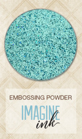 Blue Fern Studios - Embossing Powder - Speckled Mint