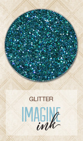 Blue Fern Studios - Imagine Ink - Glitter - Peacock Feathers