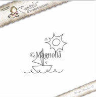 Magnolia Stamps Summer 2017 - Lounging Background