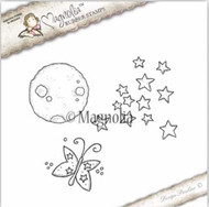 Magnolia Stamps Galaxy 2017 - Moon, Star and Butterfly Kit