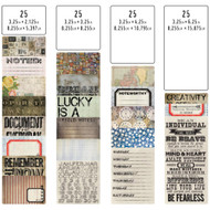 Tim Holtz - Idea-ology Collection - Pocket Cards