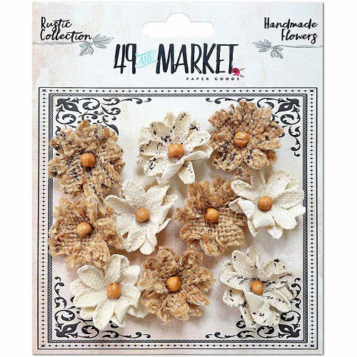 49 and Market - Rustic Canvas and Burlap Small Blooms