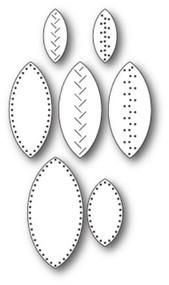 Memory Box Die -Stitched Leaves Craft Die -99758