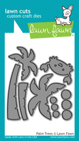 Lawn Fawn - Dies - Palm trees ( LF1435)
