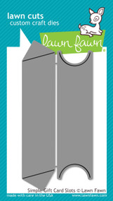 Lawn Fawn -Simple Gift Card Slots (LF1440)