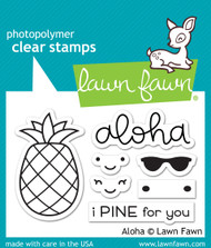 Lawn Fawn -Clear Stamps-Aloha
