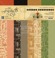 Graphic 45 - Master Detective - 12 x 12 Patterns & Solids Paper Pad