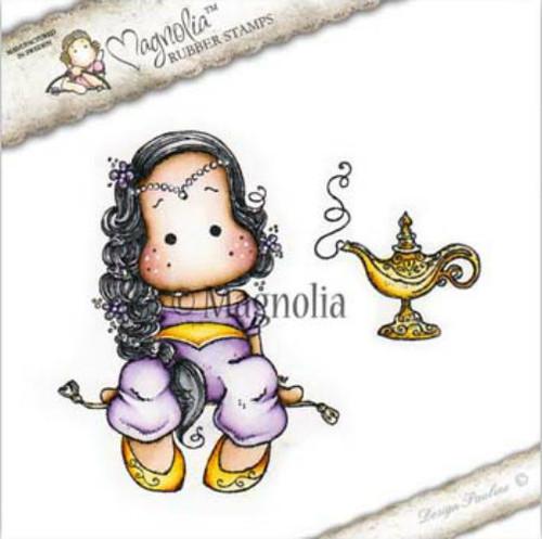 Magnolia Stamps I Believe In Unicorns 2017 - Aladdin Tilda With Lamp