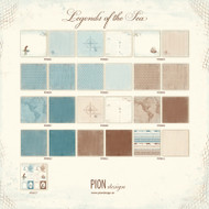 Pion Design - Legends Of The Sea - 12 X 12 Collection