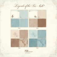 Pion Design - Legends Of The Sea - 6 x 6 Collection