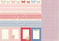 Pion Design - Patchwork of Life - 12 X 12 - Borders