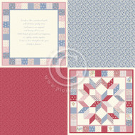 Pion Design - Patchwork of Life - 6 x 6 Family Quilt