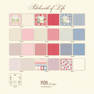 Pion Design - Patchwork Of Life - 12 X 12 Collection