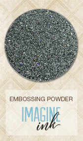 Blue Fern Studios - Embossing Powder - Iridescent Grey