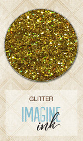 Blue Fern Studios - Imagine Ink - Glitter - Golden Rod