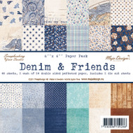 Maja Design - Denim & Friends - 6 x 6 Paper Pack