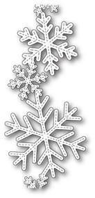 Box Die- Stitched Alpine Snowflake Band Craft Die 1924