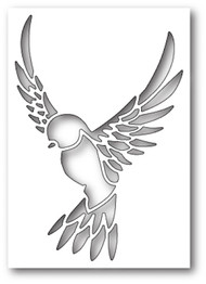 Box Die- Peaceful Dove Collage Craft Die 1888