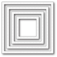 Poppystamp Die - Pointed Square Frames Craft Die 1935