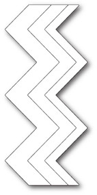 Box Die- Zig Zag Stripes Craft Die 1894