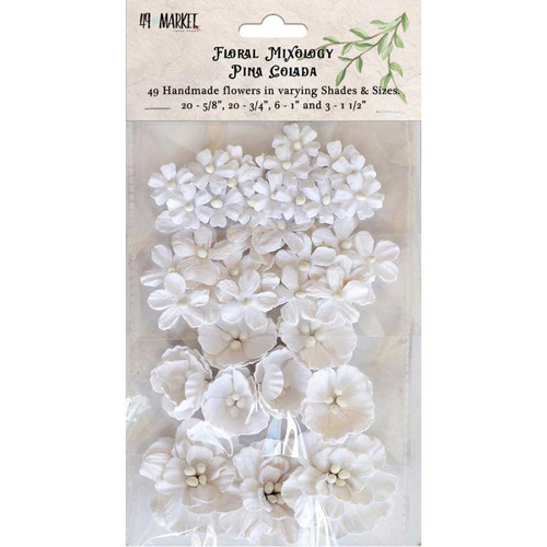 49 and Market - Floral Mixology - Pina Colada