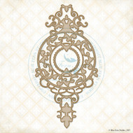 Blue Fern Studios - Chipboard - Chelsea Medallion