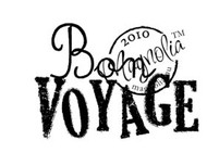 Magnolia BON VOYAGE (TEXT) Rubber Stamp