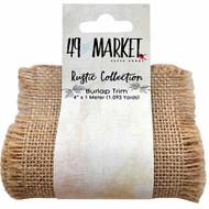 49 and Market - Burlap Ribbon Roll - Natural