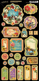 Graphic 45 - Seasons - 6 x 12 Chipboard (4501627)