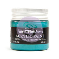 Prima Marketing - Art Alchemy - Metallique - Mermaid Teal