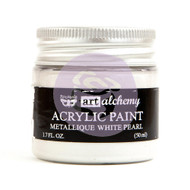 Prima Marketing - Art Alchemy - Metallique - White Pearl