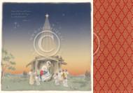 Pion Pion Design - Long ago - 12 X 12 - Nativity
