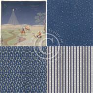 Pion Pion Design - Long Ago In Bethlehem - 6 x 6 - Three Wise Men