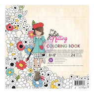 Prima Marketing - Julie Nutting Coloring Book 8 x 8