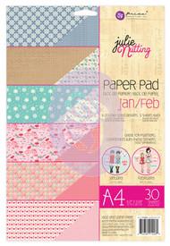 Prima Marketing - Julie Nutting A4 Paper Pad - Jan/Feb