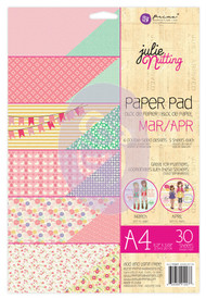 Prima Marketing - Julie Nutting A4 Paper Pad - Mar/Apr
