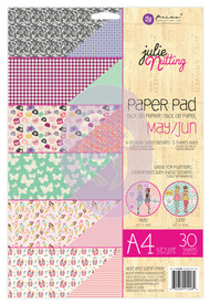 Prima Marketing - Julie Nutting A4 Paper Pad - May/June