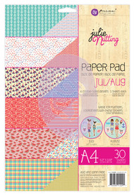 Prima Marketing - Julie Nutting A4 Paper Pad - July/Aug