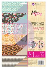 Prima Marketing - Julie Nutting A4 Paper Pad - Sept/Oct