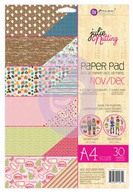 Prima Marketing - Julie Nutting A4 Paper Pad - Nov/Dec