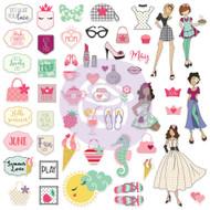 Prima Marketing - Julie Nutting Ephemera - May/June