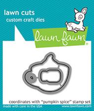 Lawn Fawn Lawn Cuts - Pumpkin Spice (LF1463)